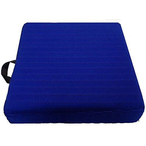 Visco-elastisch kussen met handvat 40 x 40 x 8 cm