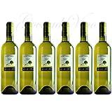 Vino Bianco Aroma sentori fruttati di pesca gialla Gusto secco fresco con finale ammandorlato n. 6 bottiglie 12 % Vol.