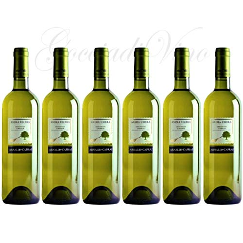 6 Bottiglie ANIMA UMBRA Grechetto 2019 Arnaldo Caprai 75 cl