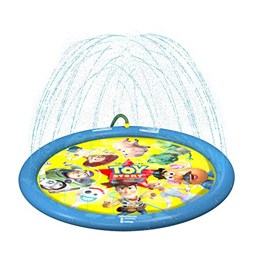 GoFloats Disney Pixar Toy Story Splash Mat, Yellow (DIS-Splash-TOYSTORY)
