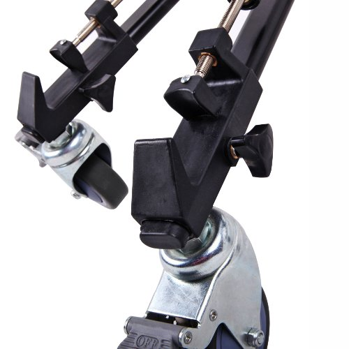 Dolica LT-D100 Professional Lightweight and Heavy Duty Tripod Dolly with Adjustable Leg Mounts,Black