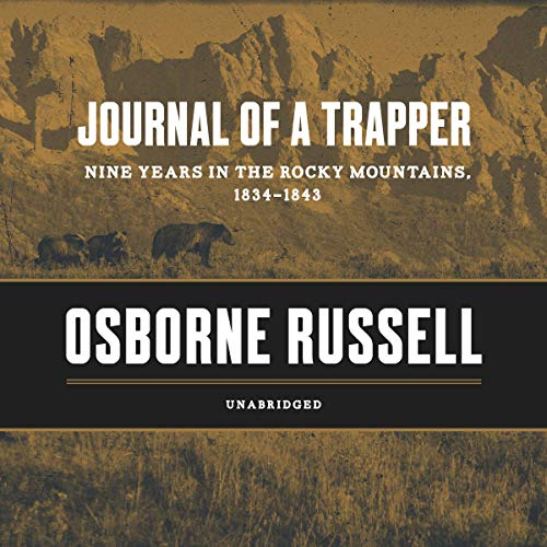 Journal of a Trapper audiobook cover art