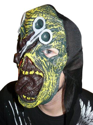 Seruna Li 01 , Masque Qui Donne des frissons pour Halloween Costume, soirée à thème, Masque d'Halloween pour Costumes d'Horreur, en Taille Unique , va Bien à Tout Le Monde