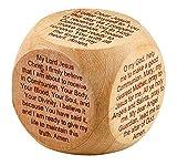 Wooden First Communion Prayer Cube, 1 3/4 Inch