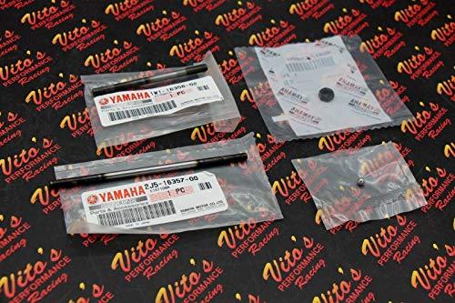 Vito's Performance New - OEM Yamaha Blaster Clutch Push Rod and Ball Adjuster Screw 1988-2006
