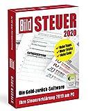 BILD Steuer 2020, Geld-zurück-Software für die Steuererklärung 2019, einfache Steuersoftware, CD für Windows 10 & 8