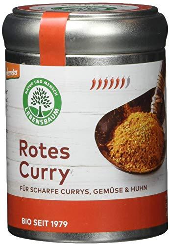 Lebensbaum Rotes Curry (Für Reis, Gemüse & Fleisch), 55 g