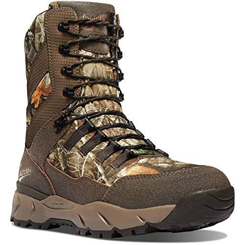"""Danner Men's 41560 Vital 8"""" 800G Waterproof Hunting Boot, Realtree Edge - 9.5 D"""