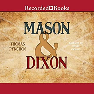 Mason & Dixon audiobook cover art