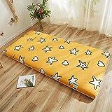 LIMIAO Colchón Japonés de Futón, colchón de Tatami de 5cm de Grosor para Dormir, colchoneta para Dormir para niños,...