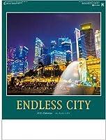 カレンダー 2021 壁掛け 夜景 エンドレスシティ 世界の夜景 カレンダー 世界風景 2021年 令和3年 壁掛けカレンダー