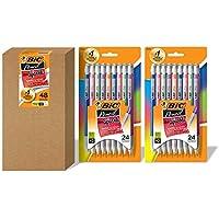 48-Count BIC Xtra Sparkle Mechanical Pencil, Medium Point (0.7 mm)
