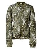 Aeropostale Womens Floral Camo Puffer Jacket, Green, Medium