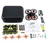 Ballylelly pour Tinyhawk S Mini Intérieur FPV Racing Drone Drone Brushless 37CH 20mW 4 en 1 5A F4 Contrôleur De Vol 600TVL Caméra RC Drone
