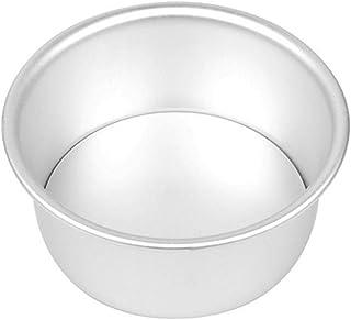Herramienta para Hornear Pan de aleación de Aluminio Redondo de la Torta de Gasa de Queso