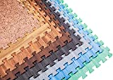 Incstores - Premium Soft Wood Interlocking Foam Tiles