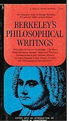 Book cover: Berkeley's Philosophical Writings by George Berkeley