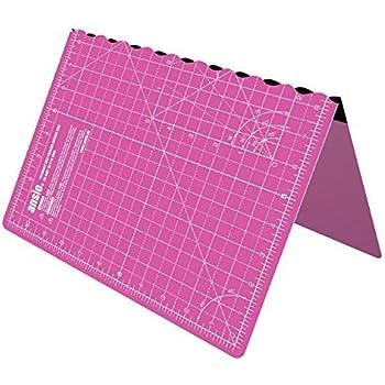 ANSIO Alfombrilla de corte, pvc, Super rosa/morado real, A1: Amazon.es: Hogar
