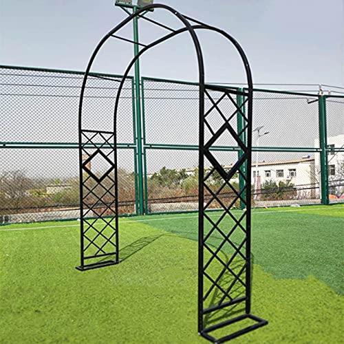 SYLJ Arco de Jardín de 2.3M, Resistente Y Resistente Cenador Tubular para...