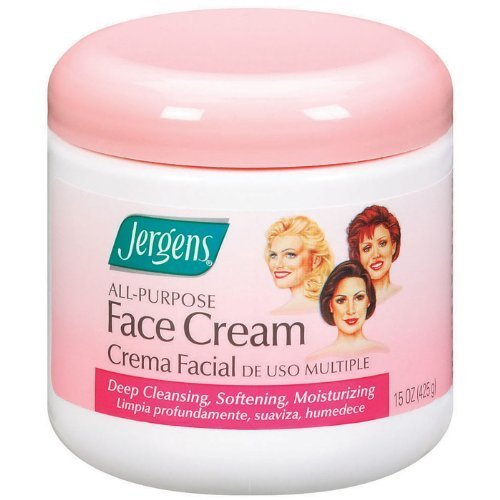 Jergens All Purpose Face Cream, 15 Ounce (Pack of 2) by KAO Brands [Beauty] (English Manual)