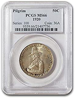1920 Pilgrim Tercentenary Half Dollar MS-66 PCGS Half Dollar MS-66 PCGS