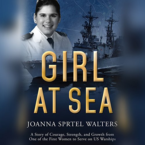 Girl at Sea audiobook cover art