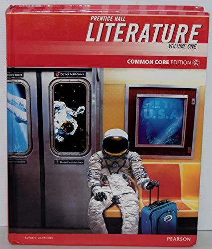 Prentice Hall Literature Common Core Edition, Grade 8 Volume 1