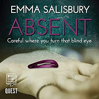 Absent audiobook cover art