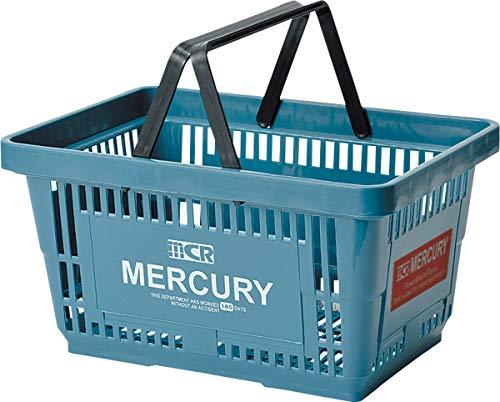 キーストーン マーキュリーマーケット バスケット ブルー W42×D29.2×H22cm