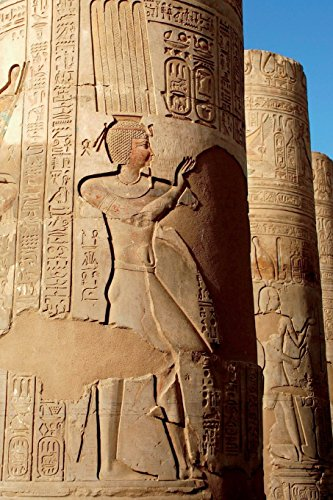 Kom Ombo Temple in Egypt Journal: 150 page lined notebook/diary