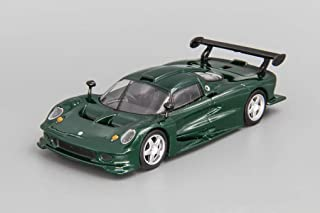 Lotus Elise GT1 Green 1997 Year British Racing Car 1/43 Scale Collectible Model Vehicle