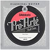 D'Addario ダダリオ クラシックギター弦 Pro-Arté Treble Half Sets 高音弦ハーフセット Clear Nylon Normal CNN-3T 【国内正規品】