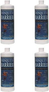 Mosquito Barrier Liquid Spray Repellent (1 Quart) 4-Pack