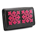シンシアローリー 財布 二つ折り財布 黒(ブラック) CYNTHIA ROWLEY crp002-10 レディース 婦人