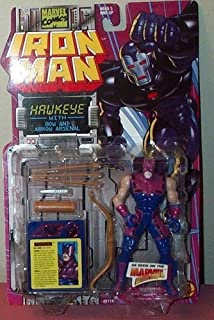 Marvel Iron Man Action Figures: Hawkeye with Bow and Arsenal