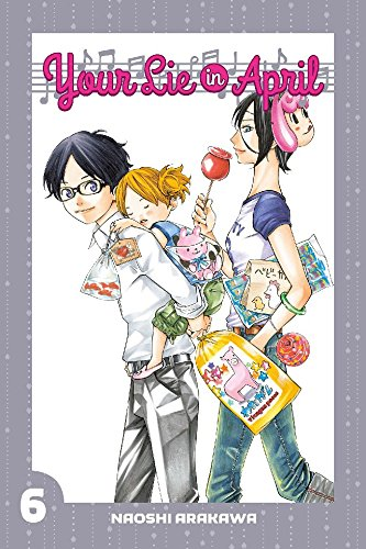 Your Lie in April Vol. 6 (English Edition)