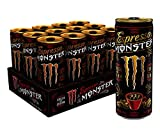 Monster Energy Espresso & Cream, Espresso Energy Drink, 8.4 Ounce (Pack of 12)