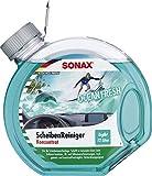 SONAX ScheibenReiniger Konzentrat Ocean-Fresh (3 Liter) Sommer-Scheibenreiniger für die...