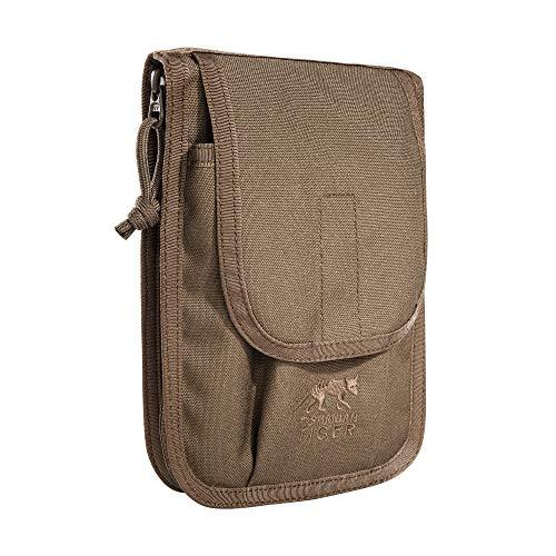 Tasmanian Tiger TT Note Book Pocket Pouch Notizbuch-Tasche - Ideal für Bundeswehr BW Schreibutensilien, 20 x 14 x 2 cm, Coyote Brown