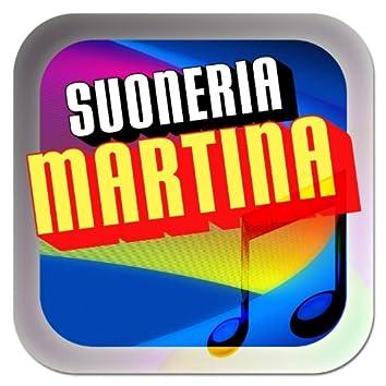Suoneria Martina (Le suonerie con il mio nome per cellulari)