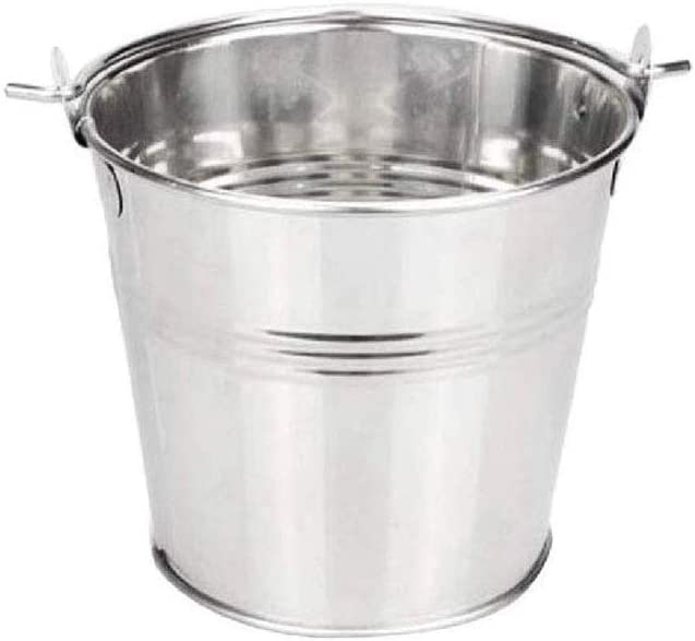 WJCCY Ice Bucket,Large Bucket Cheap Rare Stainless Cha Selling and selling Steel