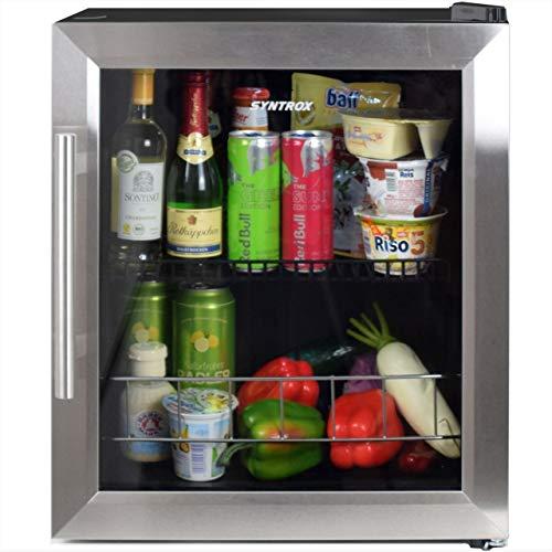 Mini réfrigérateur silencieux Syntrox Germany de 46 L - Convient comme réfrigérateur d'hôtel