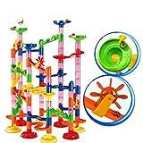 CandyTT Marble Run Race Coaster Set Run Railway Toys Juguetes de construcción Bloques de construcción Marble Run Race Coaster Maze Toys para niños (multicolor1#)