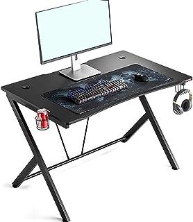 Scrivania da Computer Gaming, Tavolo da Gioco per E-Sport Scrivania per Computer da Gioco Ergonomic Gaming Desk Struttura ...
