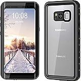 YMCCOOL Samsung Galaxy S8 wasserdichte Hülle, r&um stoßfest/staubdicht mit Beglaubigung von IP68 Wasserdichten schutzhülle für Samsung Galaxy S8 5.8inch