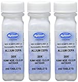 Hyland's Allium Cepa 30X Tablets, Natural Homeopathic Runny Nose, Cold or Hay Fever Relief, 250 Count (Pack of 3)