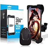 Extra Mile Direct Bike Phone Holder Mount iPhone Android Cell Phones Handlebar Accessories...