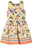 Nautica Girls' Patterned Sleeveless Dress, Floral Limelight, 2T