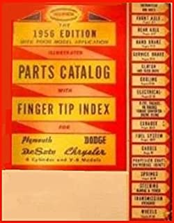 1946-1956 Plymouth Dodge DeSoto Chrysler Imperial Factory Parts Digest