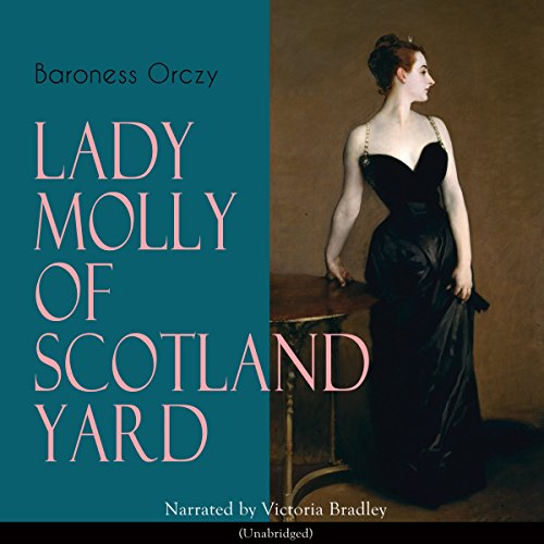 Lady Molly of Scotland Yard audiobook cover art